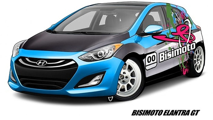 Hyundai and Bisimoto ready 600-hp Elantra GT for SEMA