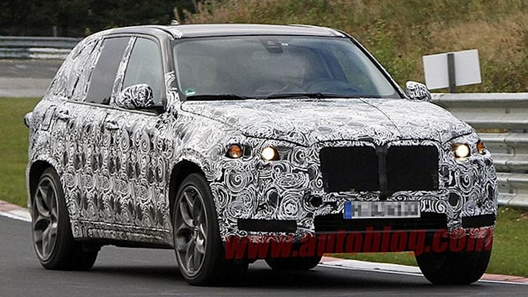 Next BMW X5 M snapped storming the Nürburgring