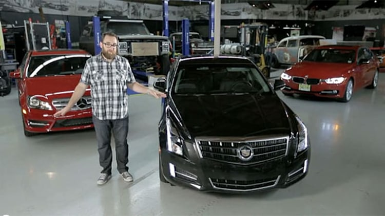 <i>Motor Trend</i> goes head-to-head-to-head in Cadillac ATS 3.6, BMW 335i and Mercedes C350 Sport