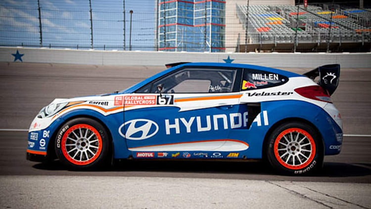 Rhys Millen puts his Hyundai RallyCross and WRC cars up for sale