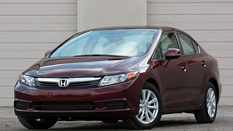 Honda recalls small number of 2012 Civic models for improper steering column