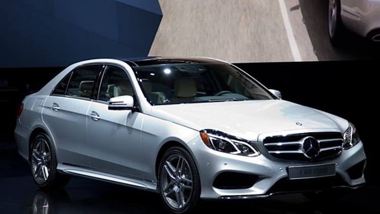 2014 Mercedes-Benz E-Class lineup shows its freshened face