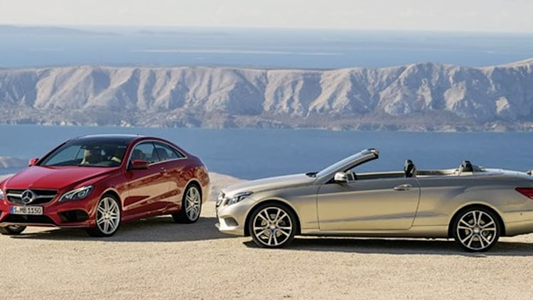 Mercedes-Benz reveals freshened 2014 E-Class Coupe and Convertible