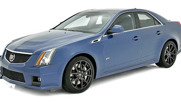 Cadillac CTS-V gets Stealth Blue and Silver Frost limited edition models