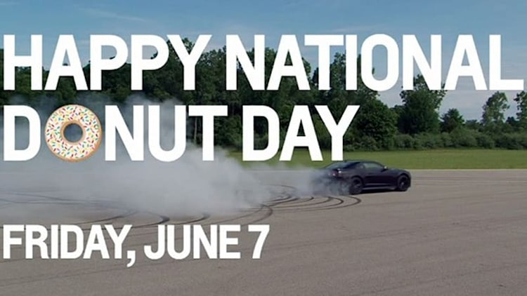 Chevy Camaro ZL1, Lexus LFA celebrate National Donut Day