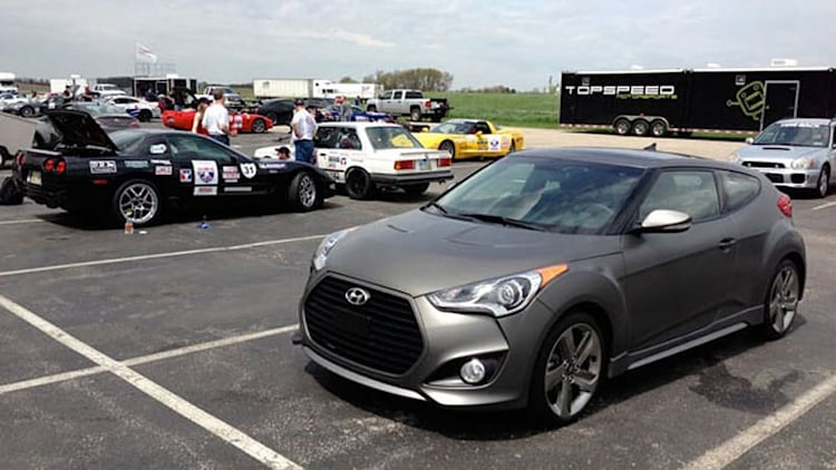 2013 Hyundai Veloster Turbo: May 2013