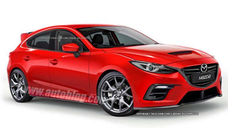 Next Mazdaspeed3 could look this good