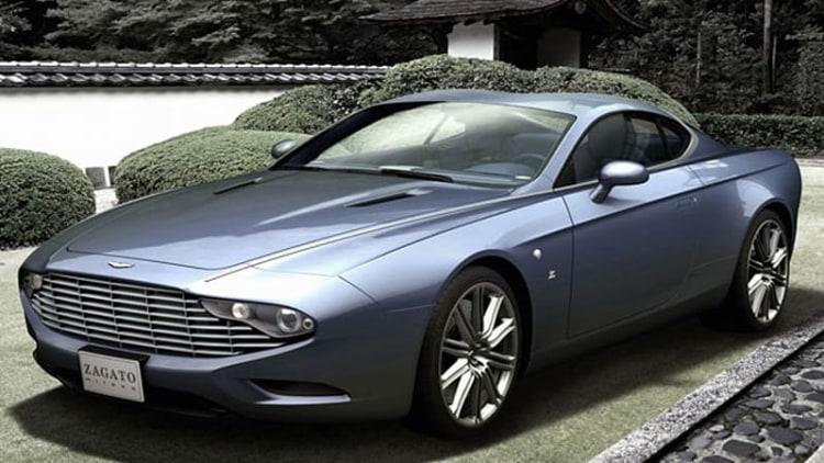 Zagato unveils two Aston Martin Centennial editions