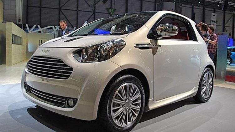 Aston Martin Cygnet bumbles its way out of production