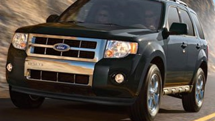1. 2012 Ford Escape Limited FWD