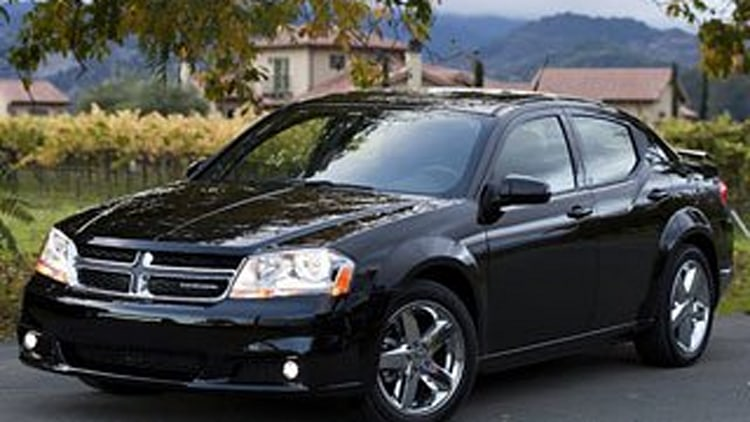 Worst Midsize Car - Dodge Avenger