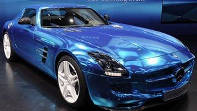 Mercedes-Benz SLS AMG Electric