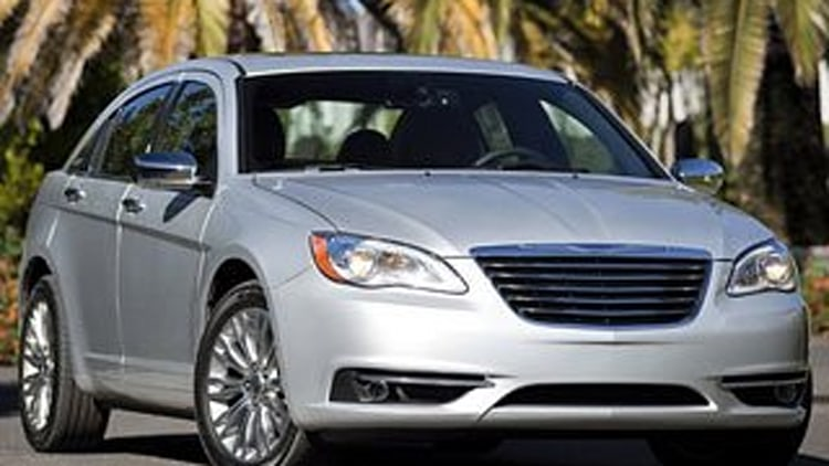 10. Chrysler 200