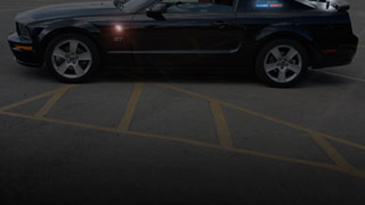 Stealth Mustang GT: Spotting the cues