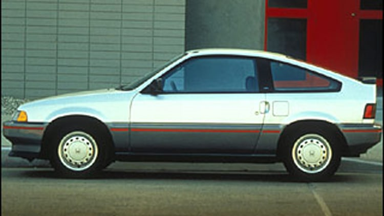 5. 1986-1987 Honda Civic Coupe HF