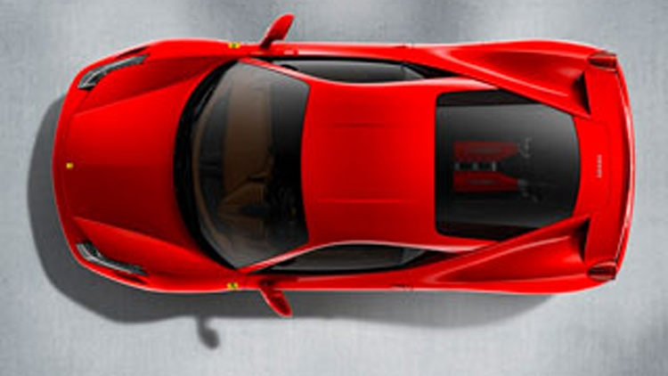 Ferrari 458 Italia Announced