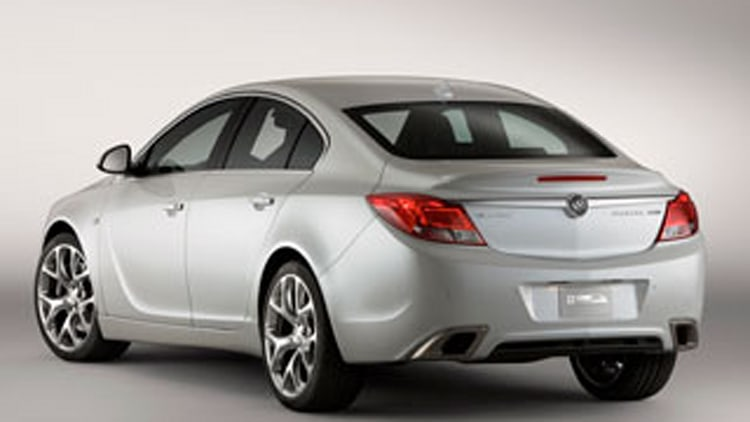 2011 Buick Regal GS Show Car: Visually Exciting...