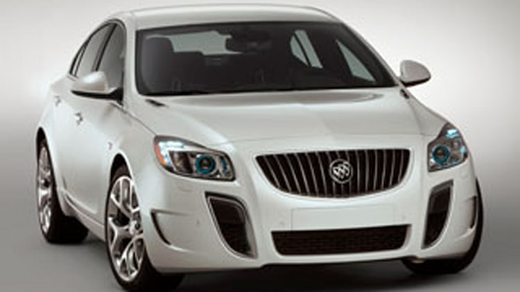 2011 Buick Regal GS Show Car: Buick's Just Back?
