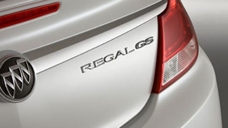 2011 Buick Regal GS Show Car: A Fast Buick?
