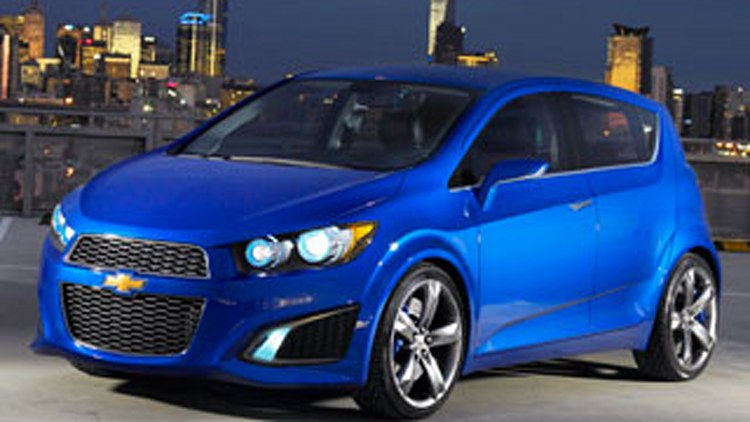 Chevy Aveo RS Concept: Chevy's New Small Car