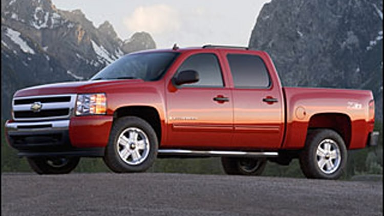 #5 Least Ticketed: Chevrolet C1500, K1500, 2500HD, 3500HD