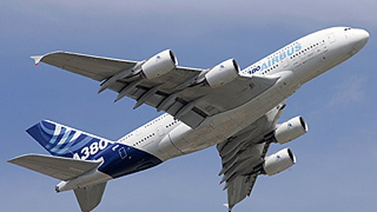 Airbus A380: 75 pmpg