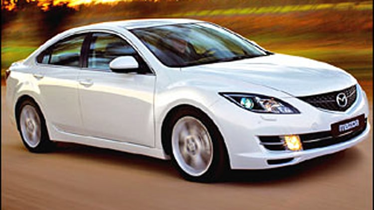 #3 Least Ticketed: Mazda6