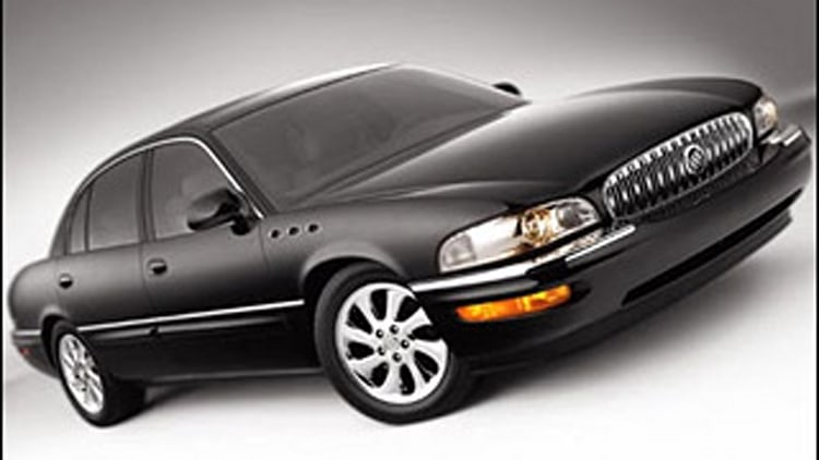 #4 Least Ticketed: 2005 Buick Park Avenue