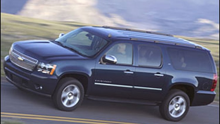 #7 Least Ticketed: Chevrolet Suburban