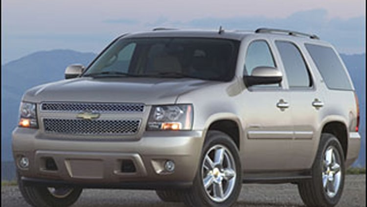 #6 Least Ticketed: Chevrolet Tahoe