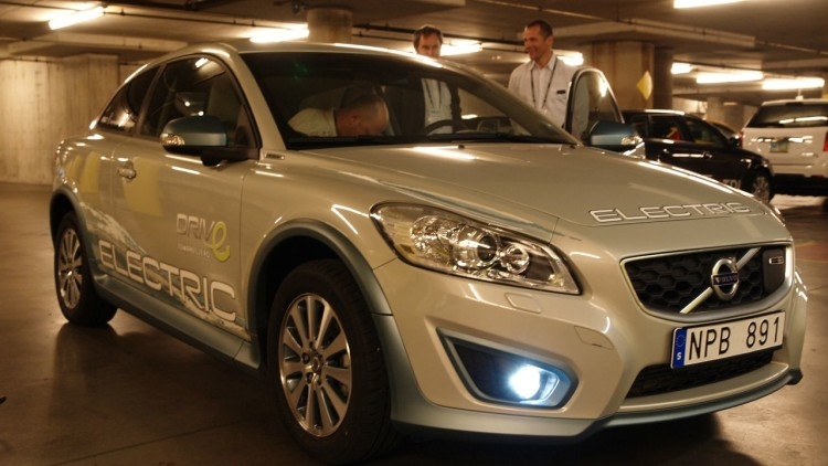 Volvo C30 DRIVe electric car