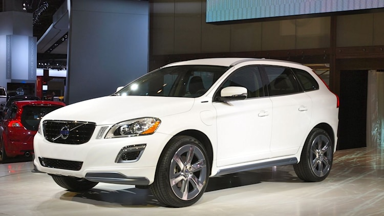 volvo xc60 plug in hybrid detroit 2012 photos photo gallery autoblog. Black Bedroom Furniture Sets. Home Design Ideas