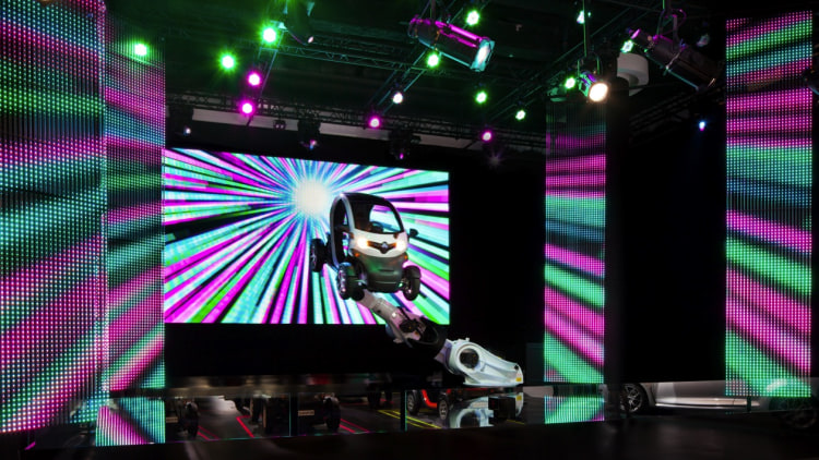 Renault Twizy Plug Into The Positive Energy exhibit