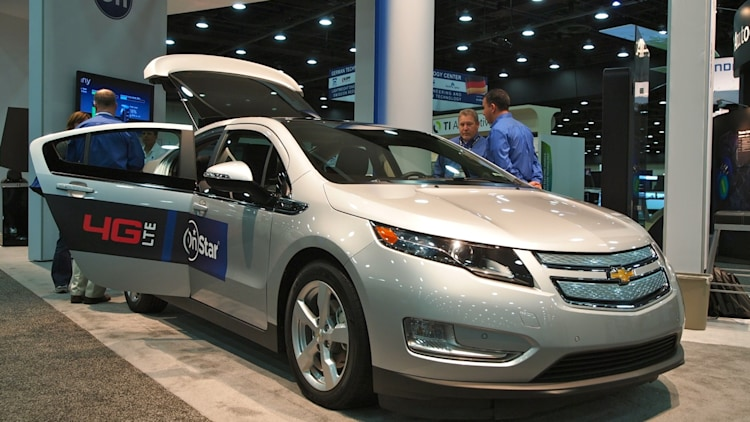 SAE World Congress 2012: Chevy Volt OnStar 4G LTE Research Vehicle