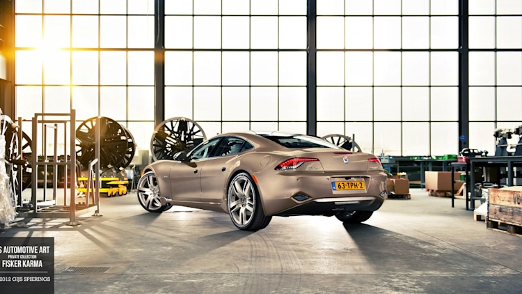 Fisker Karma by Gijs Spierings