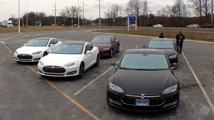 Tesla Model S Owners Road Trip