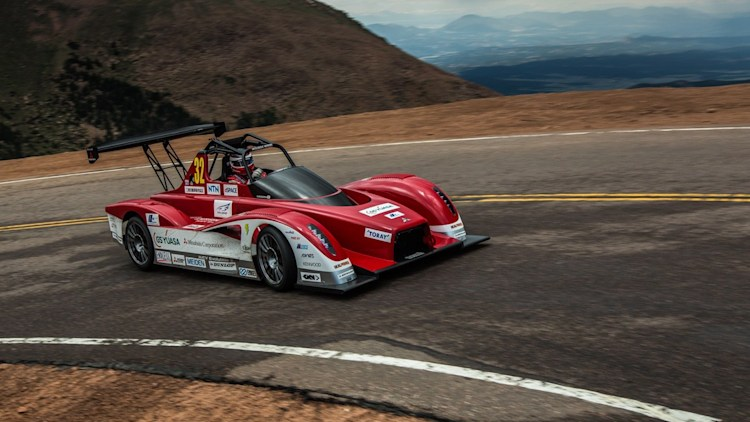 Mitsubishi MiEV Evolution II at Pikes Peak 2013