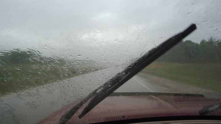 Replace your windshield wipers if they are worn, cracked or streak when in use