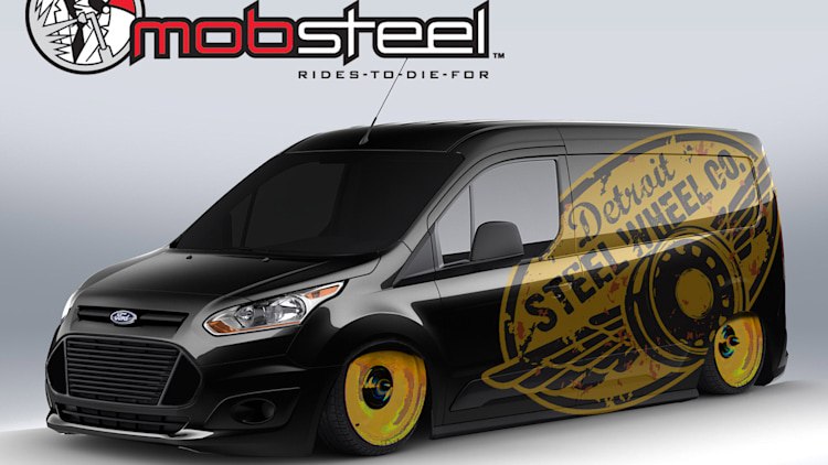 2014 ford transit connect sema teasers photo gallery autoblog - Ford Transit Connect Custom 2015