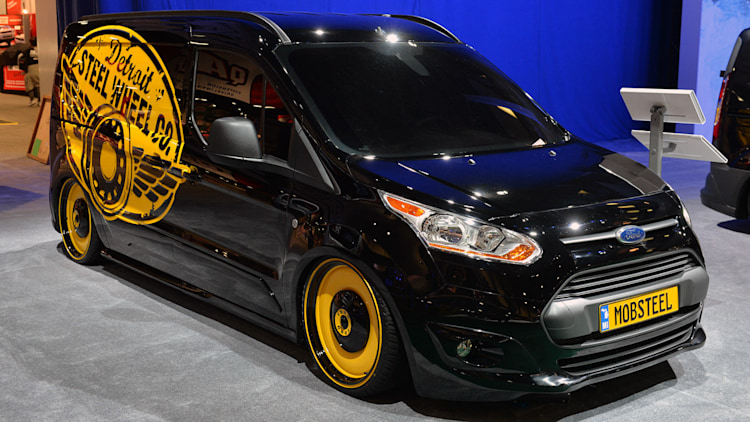 ford transit connect customs sema 2013 photo gallery autoblog - Ford Transit Connect Custom 2015