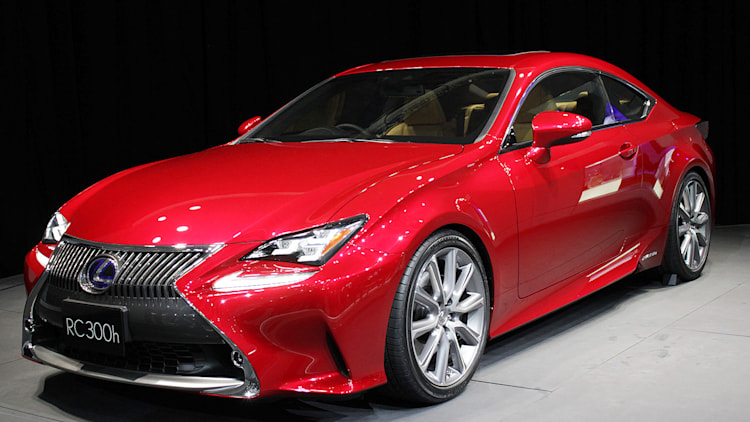 2015 Lexus RC 300h Photo Gallery Autoblog