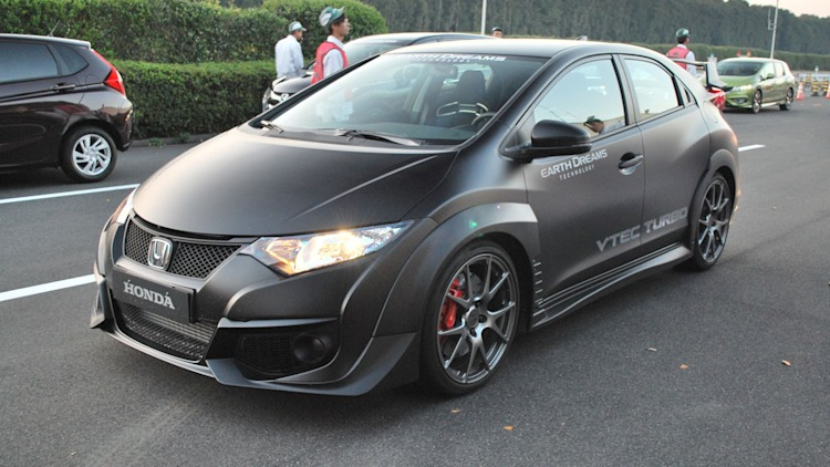 2015 honda civic type r prototype photo gallery autoblog. Black Bedroom Furniture Sets. Home Design Ideas