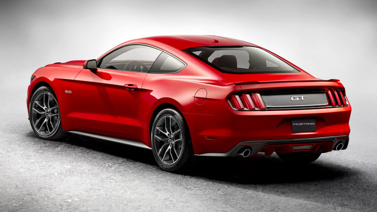 Ford Mustang 2015 Price 2015 Ford Mustang Gets Pricing