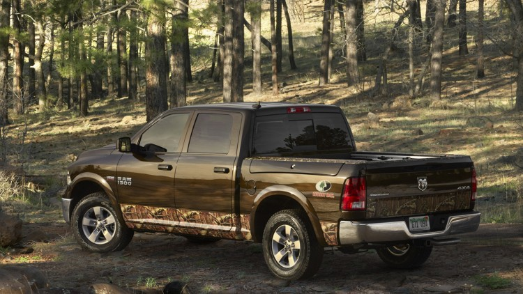 Ram 1500 Mossy Oak Edition ready to hit the woods