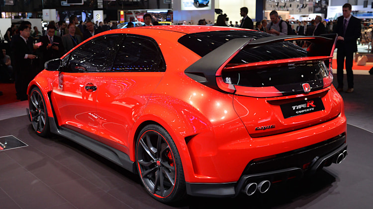 honda civic type r concept geneva 2014 photo gallery. Black Bedroom Furniture Sets. Home Design Ideas