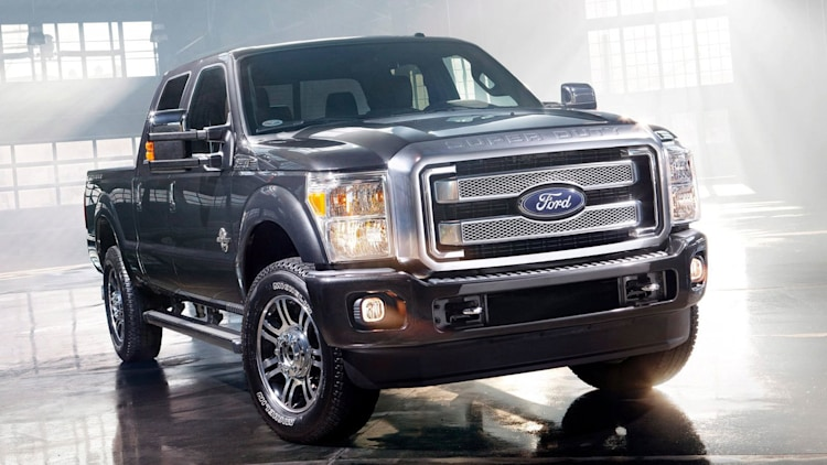 Large Heavy-Duty Pickup - 2014 Ford F-250/F-350 Super Duty