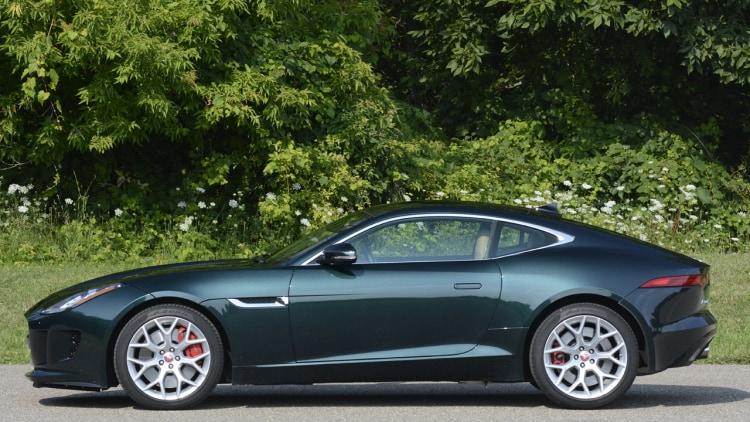 Jaguar f type coupe green - photo#28