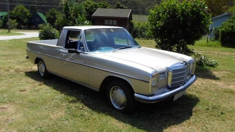 1971 mercedes benz 220d pickup with lexus v8 photo gallery autoblog. Black Bedroom Furniture Sets. Home Design Ideas