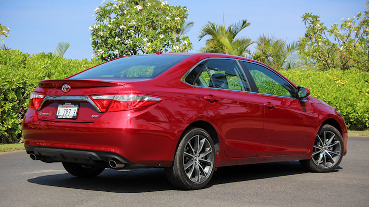 Luxury 2015 Toyota Camry First Drive