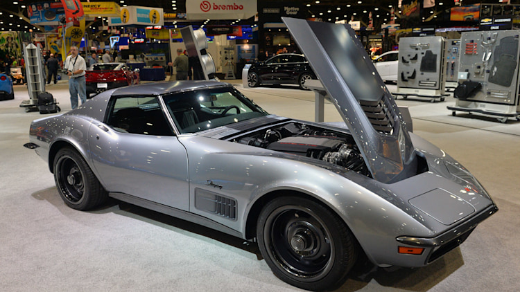 Mario Johnson Corvette >> 1971 Chevy Corvette Jimmie Johnson Concept is a modern classic [w/video]